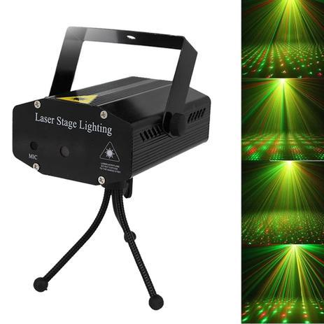 Imagem de Mini Projetor Holográfico Laser Com Efeitos Especiais 3d