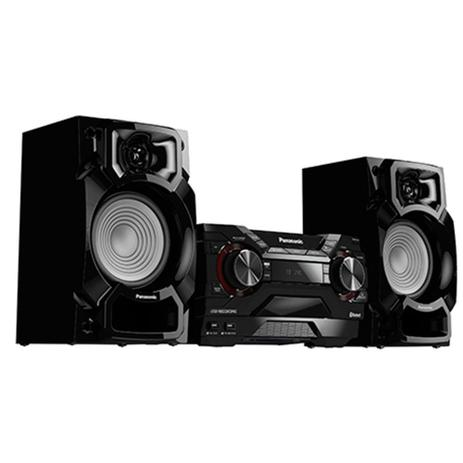 Imagem de Mini System 450W Bluetooth CD USB SC-AKX220LBK - Panasonic