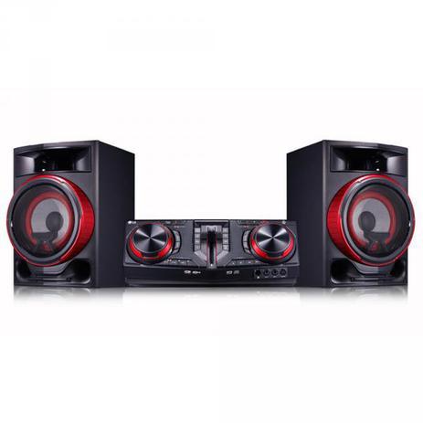 Imagem de Mini System CJ87 1800W RMS USB/MP3/Bluetooth Preto - LG