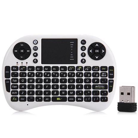 Imagem de Mini Teclado Para Smart Tv, Tablet, Xbox360/PS3 - KP-2031A - Branco