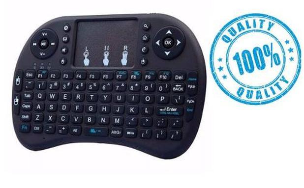 Imagem de Mini Teclado Sem Fio Wireless Touch Pad Universal Console Pc