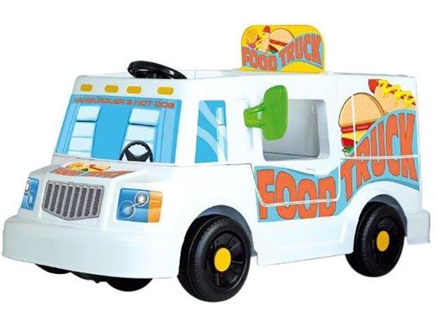25c163d846 Mini Veículo Elétrico Infantil Food Truck 1 Marcha - 6V Bandeirante ...