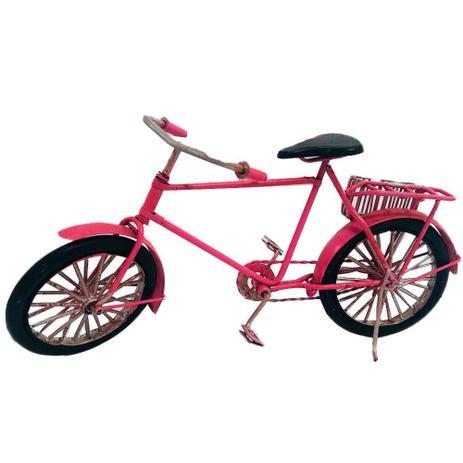 993e5324ecb Miniatura Bicicleta Rosa - Versare anos dourados - Decoração ...