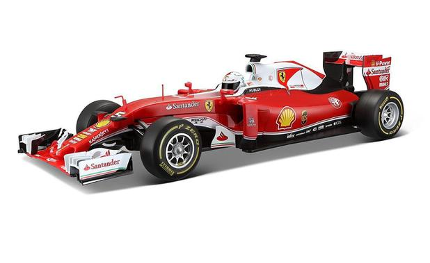 b00cfba0ff6 Miniatura Controle remoto - F1 Ferrari SF16-H - 1 24 - Sebastian Vettel -  Maisto