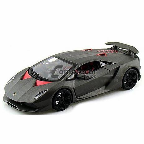 Miniatura Lamborghini Sesto Elemento Cinza Bburago 1 24 Miniaturas