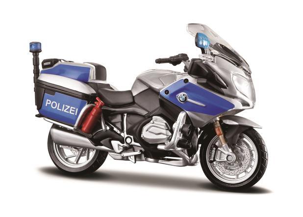 Miniatura Moto Desing Authority 1 18 Bmw R 1200 Rt Polizei Maisto