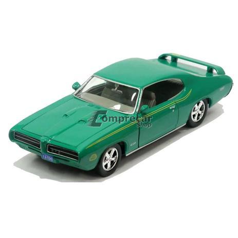 Miniatura Pontiac Gto Judge 1969 Verde Motormax 1/24
