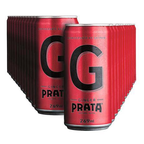 Imagem de Mixer Prata Ginger Lata 269ml - Pack com 24 Unidades