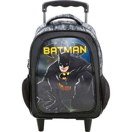 9fbcab296 Mochila De Carrinho Escolar Batman - 7580 - Xeryus - Mochila ...