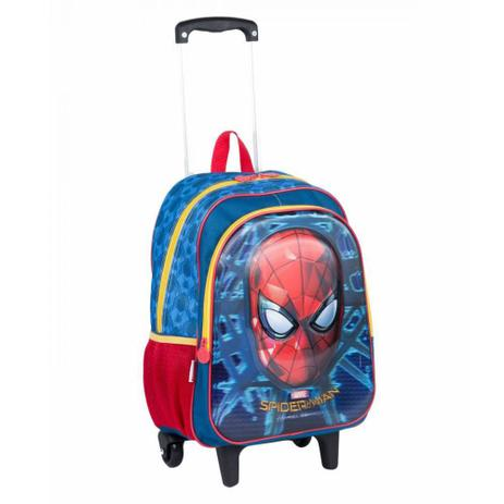 98bcb19df Mochila de Rodinhas G Spiderman - Sestini - Mochila Infantil ...