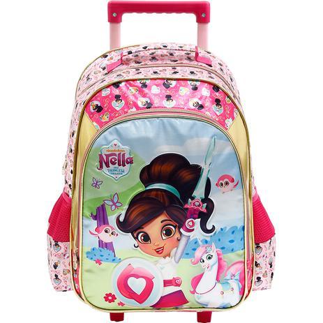 506b2cb49 Mochila de Rodinhas Princesa Nella Brave - Xeryus - Mochila Infantil ...