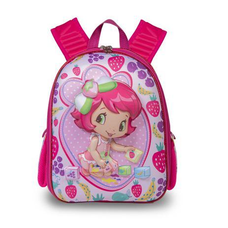 ecc48f1f7 Mochila Escolar Feminina Moranguinho Baby - Maxtoy - Mochila ...