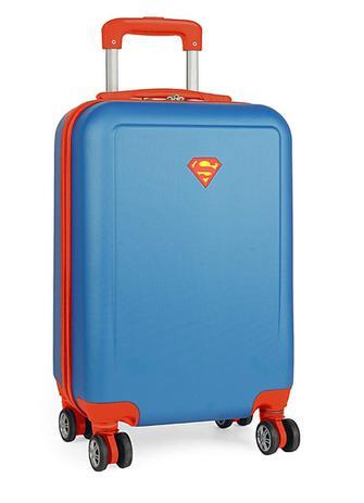 c75f17222f Mochila Escolar G 4 Rodas 360º Superman Luxcel MF10193SM