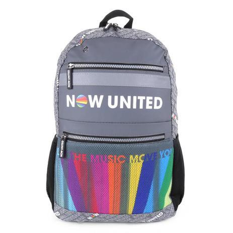Imagem de Mochila Escolar Now United Porta Notebook 17