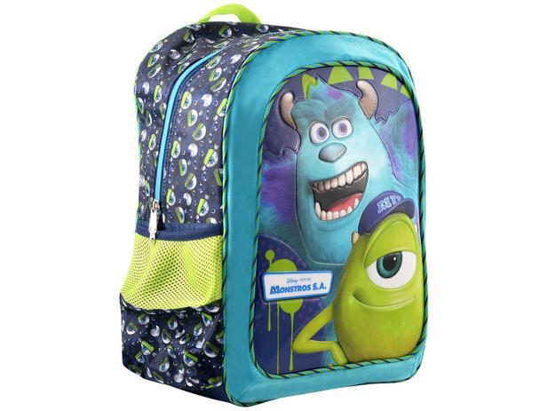 Mochila Escolar Tam. G Xeryus - Disney Pixar Monstros S.A Scream