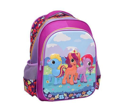 "56771bf7f Mochila infantil 3d poney 15,5"" - Bf brasil - Mochila Infantil ..."