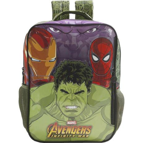 Imagem de Mochila Infantil Avengers De Costas Grande - Ref: 7482 - Xeryus