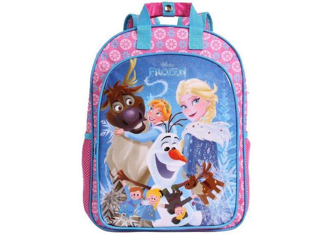 76bbea7f2 Mochila Infantil Escolar Feminina Tam. G Dermiwil - Max Disney Frozen Rosa