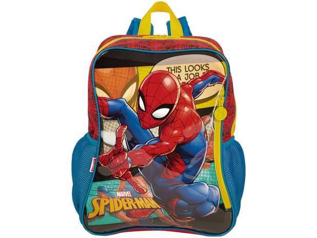 a9a3c32fd Mochila Infantil Escolar Masculina Tam. G Sestini - 19M Spider-Man ...