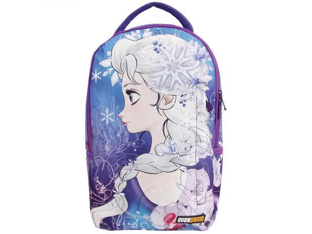 Mochila Infantil Escolar Tam. G Dermiwil - Overprint Frozen Elsa