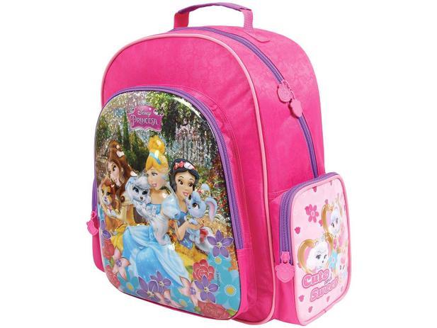 e26c430f2 Mochila Infantil Escolar Tam. M Dermiwil - Disney Princesas ...