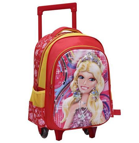 fe999c444 Mochila infantil feminino com carrinho 3d princesa 15,5 - Wellmix ...