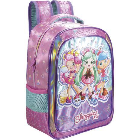 0bec055e6 Mochila Média 16 Shoppies Sweet Friends - Xeryus - Mochila Infantil ...
