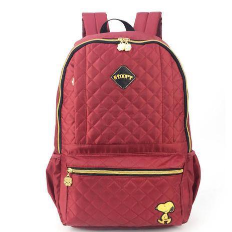 9ee7b84cb Mochila para Notebook Snoopy Vinho Luxcel MJ48515SN (455886 ...