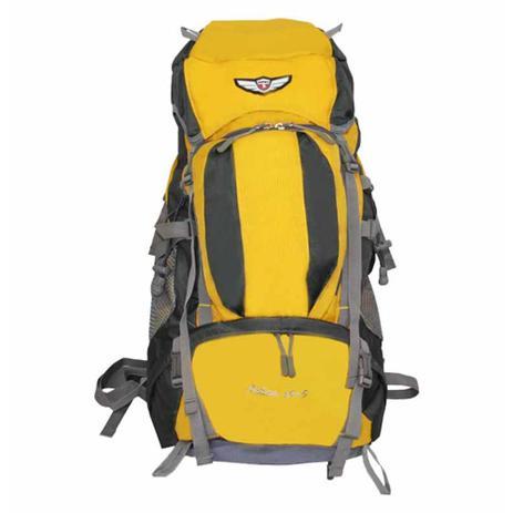 df3cb75cc Mochila para viagem 40l amarelo/cinza / un / batiki - Mochilas ...