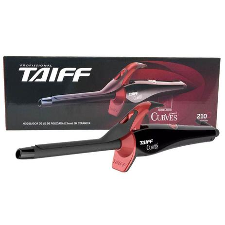 d310f4eeb Modelador De Cachos Curves Bivolt Taiff 13mm 1/2 Pol - Modelador de ...