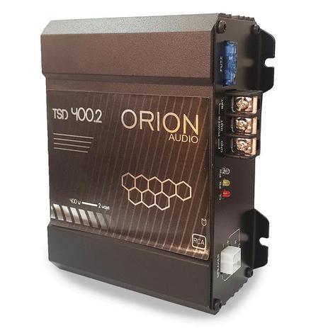 Imagem de Modulo Amplificador Digital Som Orion 400.2 Estereo / Mono 400 RMS