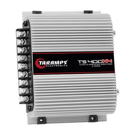 Imagem de Módulo De Potência Taramps TS-400x4 Digital 2R 400W RMS 4 Canais Full Range 13.8V