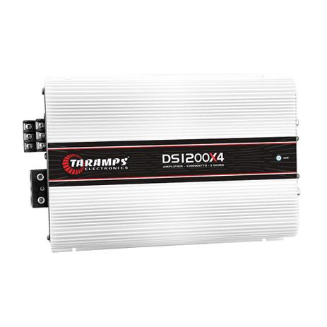 Imagem de Módulo Potência Taramps DS-1200x4 Compact 1200W RMS 4 Canais 2 ohms