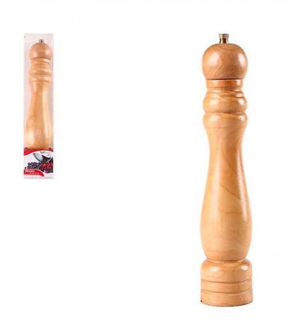 Imagem de Moedor de Pimenta e Temperos de Madeira 21 cm