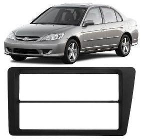 Imagem de Moldura 2 din Honda Civic 2001 2002 2003 2004 2005 2006