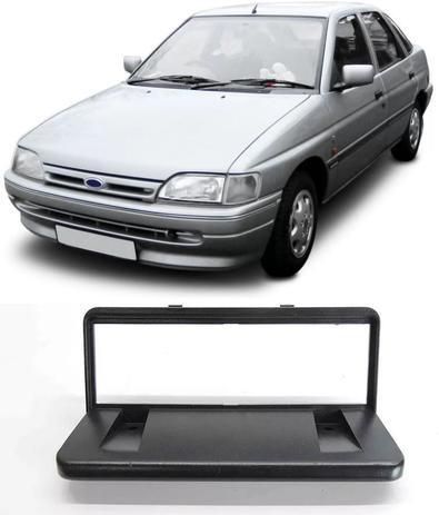 Imagem de Moldura De Painel 1 Din Ford Escort Verona Sapão e Argentino 1993 1994 1995 1996 - Para Rádio