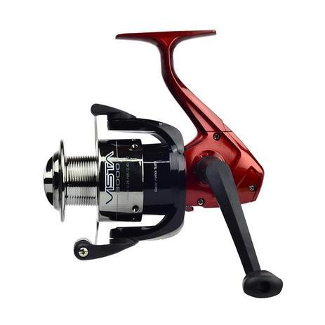 Imagem de Molinete P/ Pesca Neo Plus Vista 3000Fd Fricção Dianteira Vermelho