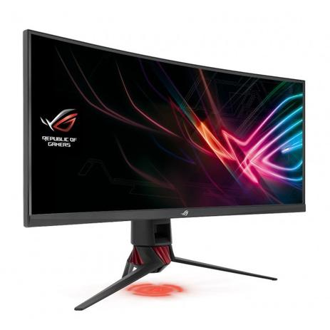 Monitor Asus Led Rog Strix Xg35vq Curved Aura Sync Ultra Wide 100hz  Free-Sync 4ms Hdmi/Dp 2 5k 35