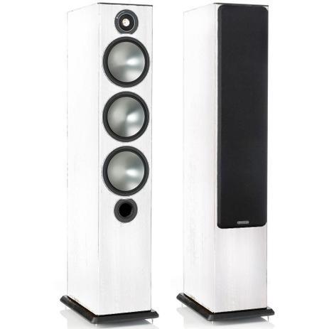 Imagem de Monitor Audio Bronze 6 - Par de caixas acústicas Torre 2,5-Vias para Home Theater Branco