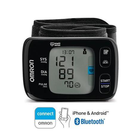 Imagem de Monitor de Pressão Arterial de Pulso com Bluetooth - HEM-6232T Omron