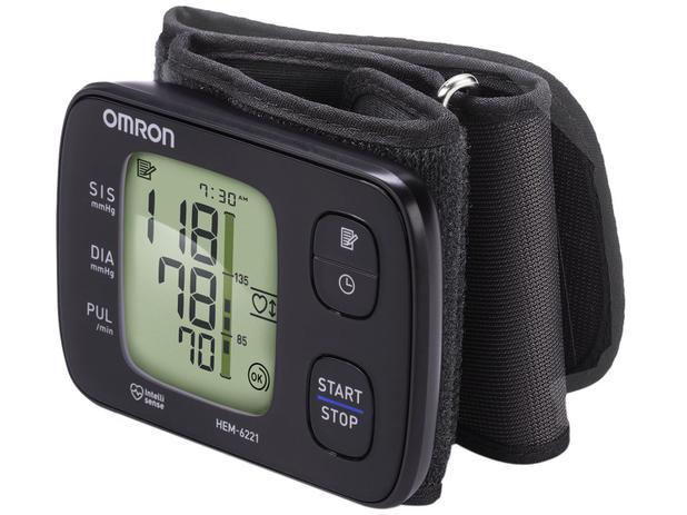 86797b132 Monitor de Pressão Arterial de Pulso Omron - HEM 6221 - Medidor de ...