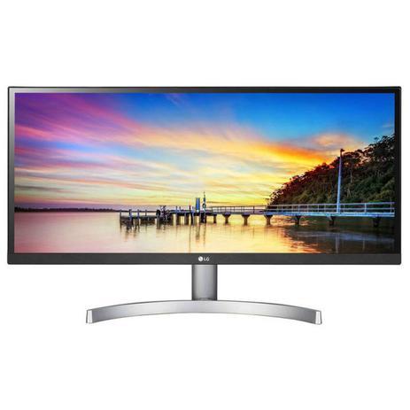 "Monitor LG 29"" 29WK600 UltraWide Full HD IPS HDR10 AMD FreeSync Prata"