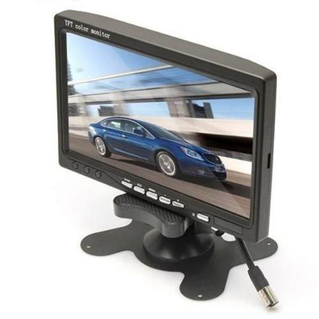 Imagem de Monitor Veicular 7 Polegada Portatil Colorido P Camera De Re