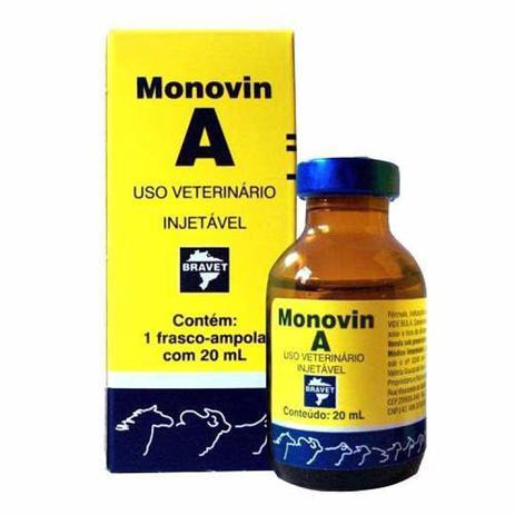 Imagem de Monovin A 20ml Vitamina Original - Bravet