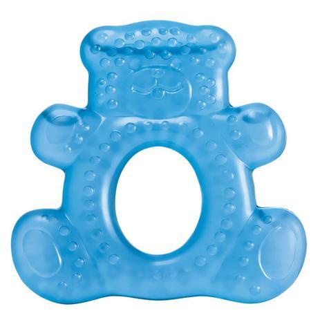 Imagem de Mordedor Com Água Teddy Bear Azul Multikids Baby - BB143