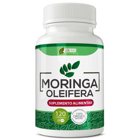 Imagem de Moringa oleifera 500mg 120cps vida ervas