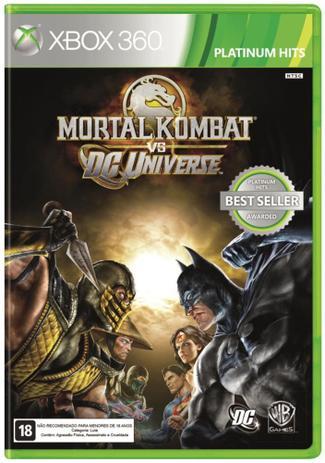 Imagem de Mortal Kombat Vs Dc Universe - Xbox-360