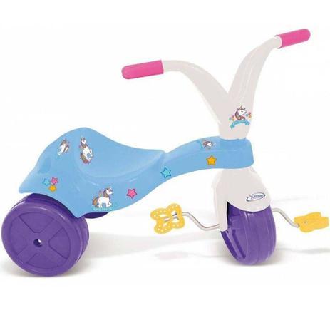 86950a2fb Motinho Triciclo infantil rosa motoca desenho unicórnio - Xalingo ...
