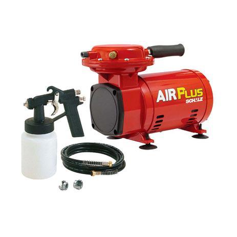 Imagem de Moto Compressor de ar MS 2.3 Air Plus com kit vermelho Schulz