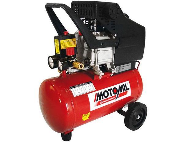 Motocompressor de Ar Motomil 24L 2HP - 29640.6 CMI 3600rpm